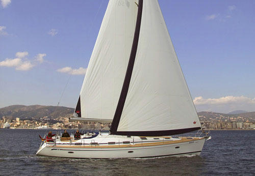 Yacht Bavaria 50 for hire in Cyprus