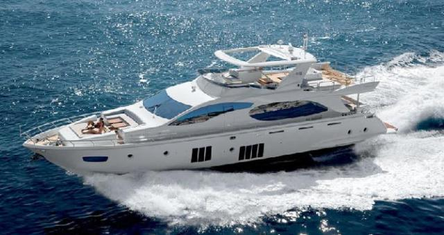 Yacht Princess 88 for hire in Cyprus