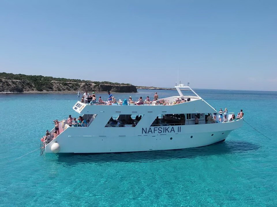 Yacht Nafsika for hire in Latchi