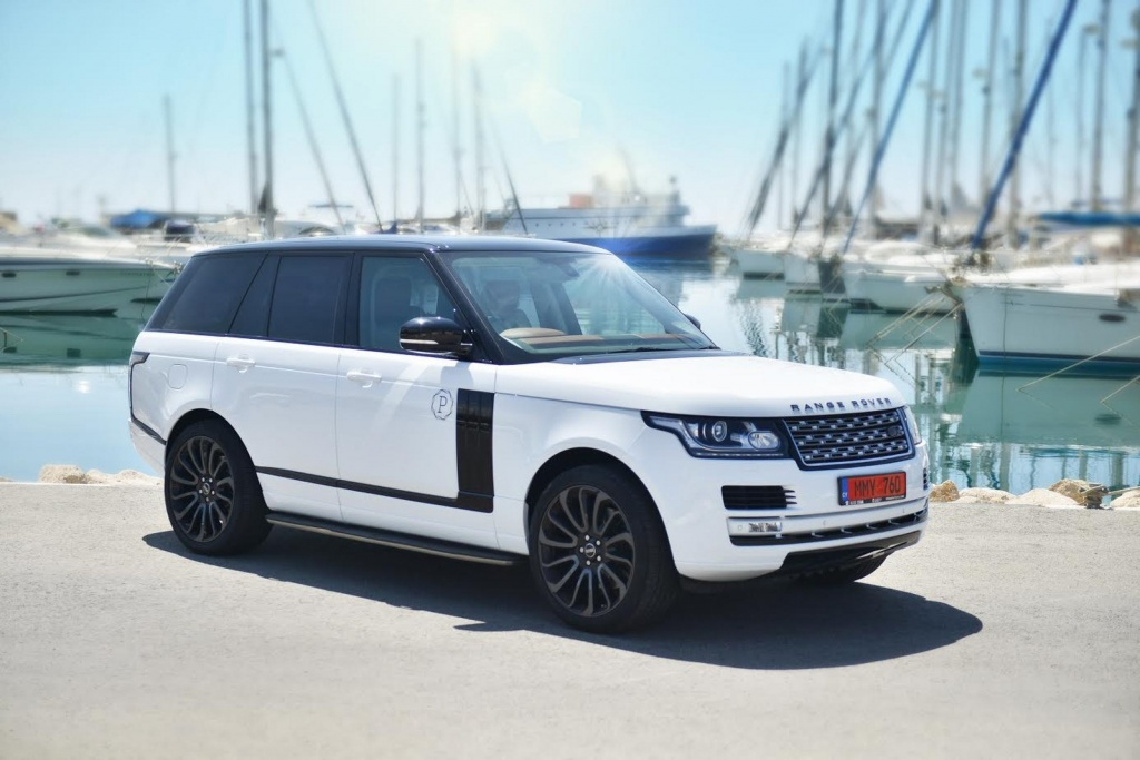 Аренда Range Rover Vogue на Кипре