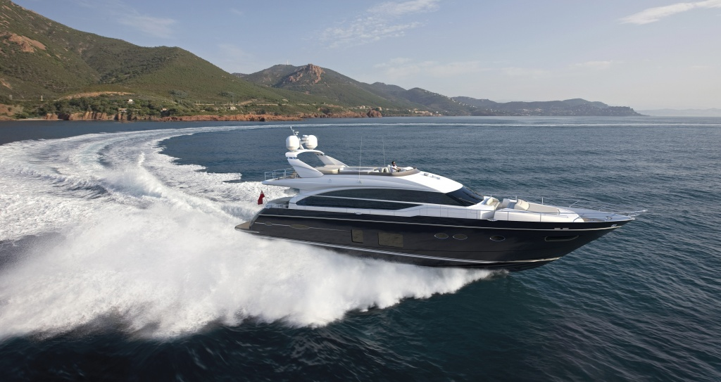 Yacht Princess 82 for private charter in Cyprus