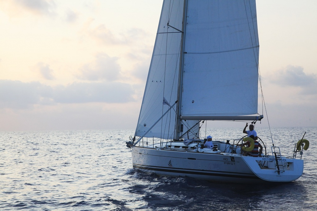 Sailing yacht Beneteau 40 for hire in Cyprus