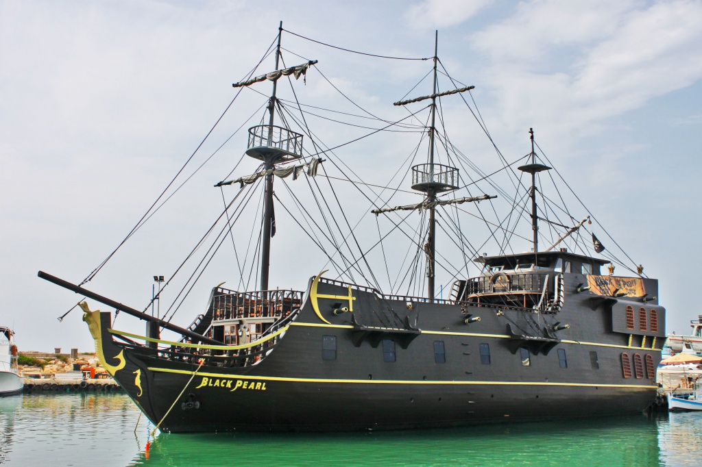 The Black Pearl Pirate Ship for hire in Cyprus